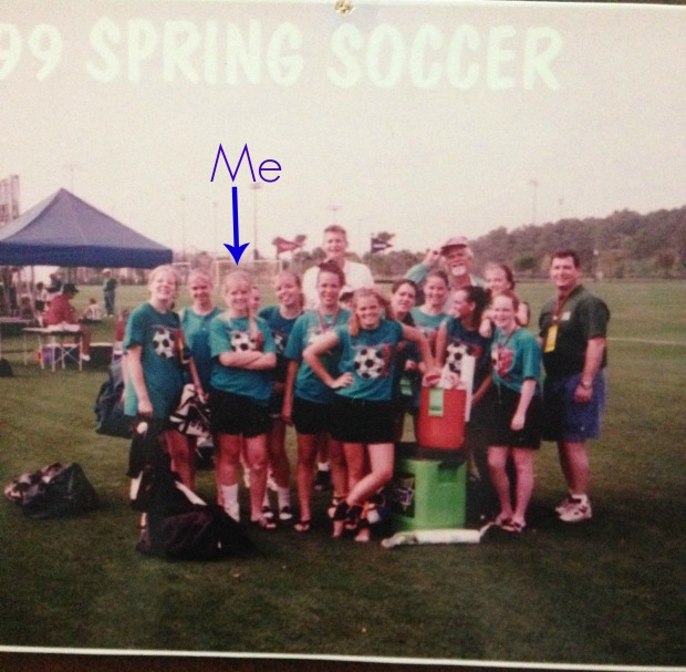 Throwback soccer